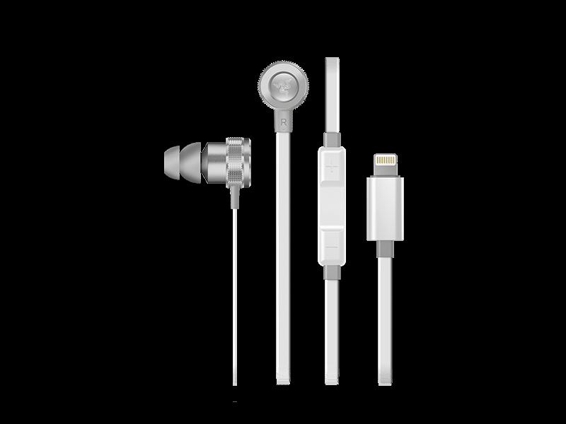 Купить Razer Hammerhead for iOS, Mercury White за 6990 ₽