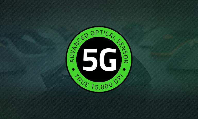 Оптические мыши с сенсором 16 000 DPI, Razer 5G - купить на официальном сайте