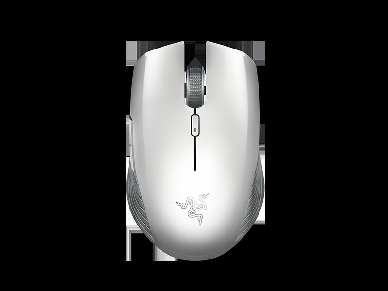Razer Atheris, Mercury White – Купить белую беспроводную мышь для ноутбука на Razer.ru