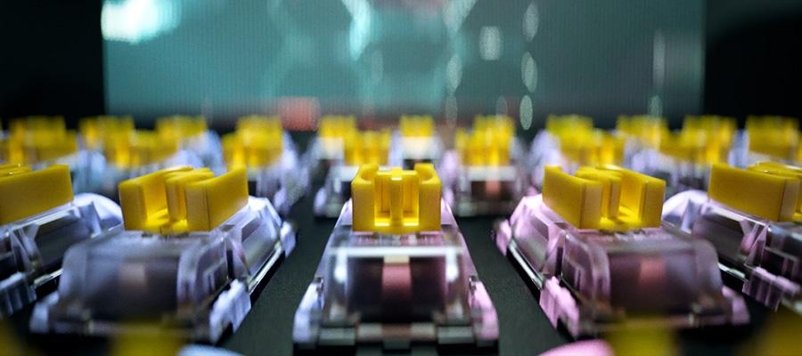 Механические переключатели Razer Yellow