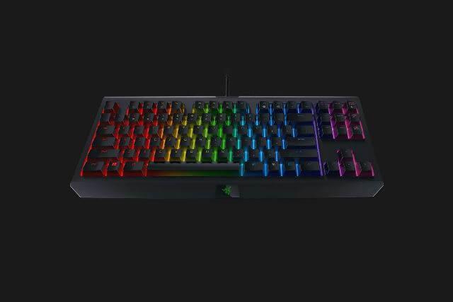 Razer BlackWidow Tournament Edition Chroma V2 - вид спереди