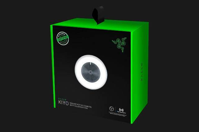 Упаковка Razer Kiyo - лицевая сторона