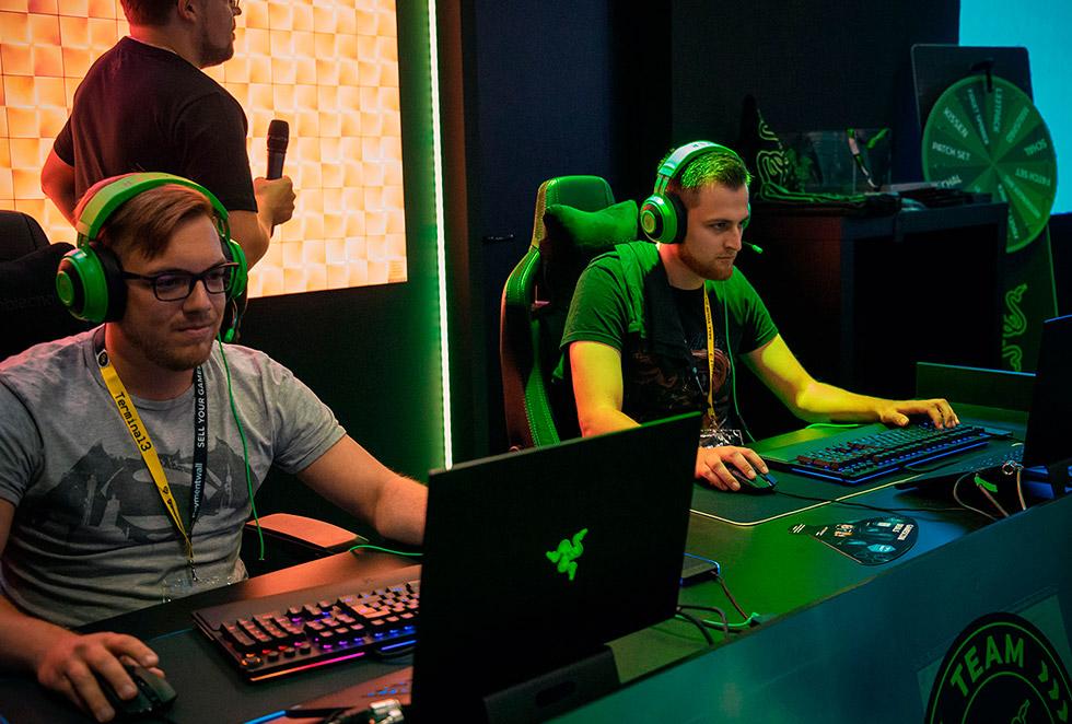Фанаты Razer на GamesCom 2019