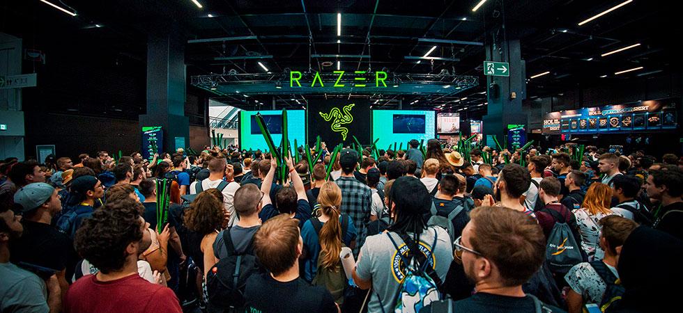 Стенд Razer на игровой выставке GamesCom 2019