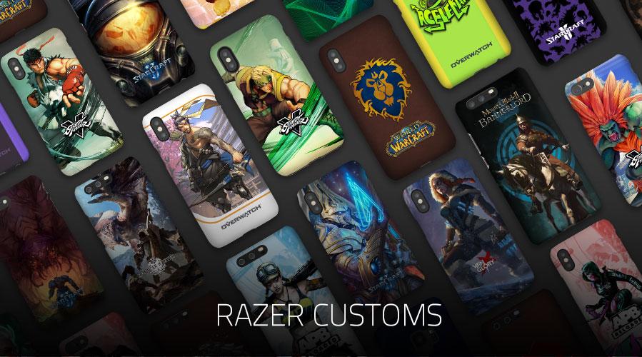 Razer Customs - кастомизируйте свой телефон