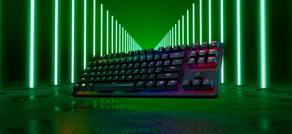 Турнирная клавиатура на линейных оптических переключателях Razer Huntsman Tournament Edition