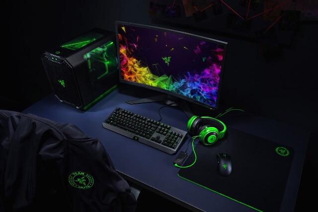 Razer Kraken TE - настоящий сетап геймера